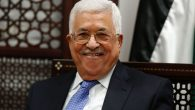 Palestinian Authority President Mahmoud Abbas shown in a meeting in Ramallah. Abbas Momani/Getty.