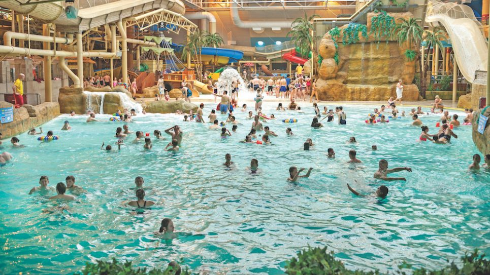 In Blackpool you will find Sandcastle Waterpark, Britain's largest indoor waterpark. Courtesy