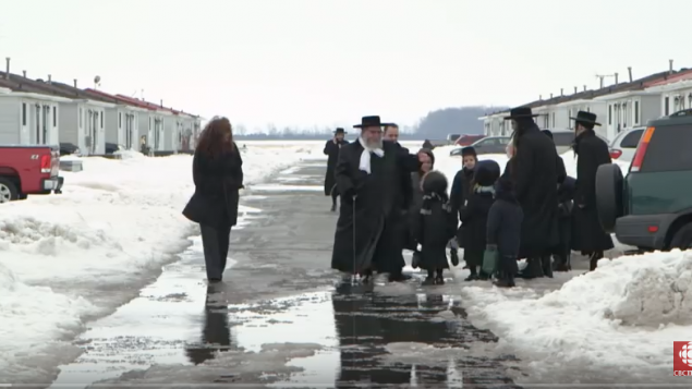 Guatemalan police raided Lev Tahor's homes and reportedly removed children. Screenshot/CBC Youtube