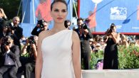 "Natalie Portman showing her baby bump at the premiere of her film ""Planetarium"" at the 73rd Venice Film Festival, JTA"