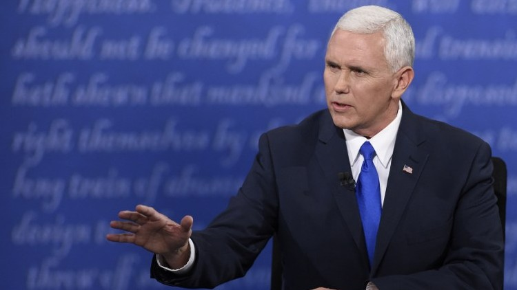 US Vice Presidential debate: Mike Pence calls Vladimir Putin a bullying leader