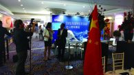 At a recent investor summit Israeli and Chinese executives mingled over Asian soups and dumplings. Joshua Mitnick/JW