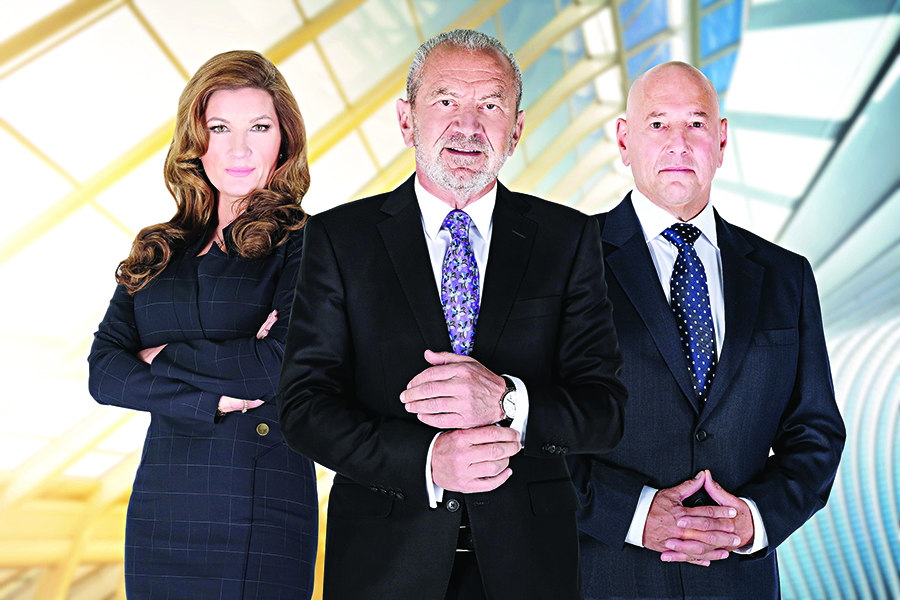 Karren Brady, Lord Alan Sugar, Claude Littner - (C) Boundless - Photographer: -