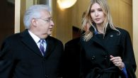 Attorney David Friedman, left, exiting the Federal Building with Ivanka Trump. Bradley C Bower/Bloomberg News