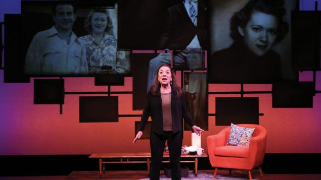 "Monica Piper in ""Not That Jewish,"" a title steeped in irony. Photos by Carol Rosegg"