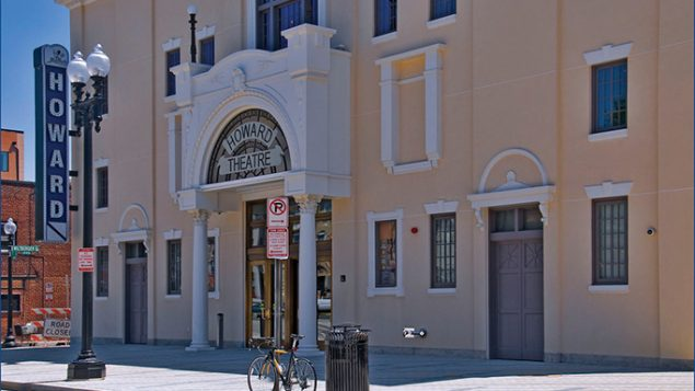 The elegant Howard Theatre is a cultural nexus in the Shaw neighborhood. Wikimedia Commons