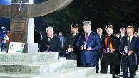 German President Gauck in Babi Yar