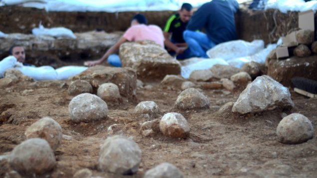 Site of Romans' Breakthrough Found in Jerusalem 1