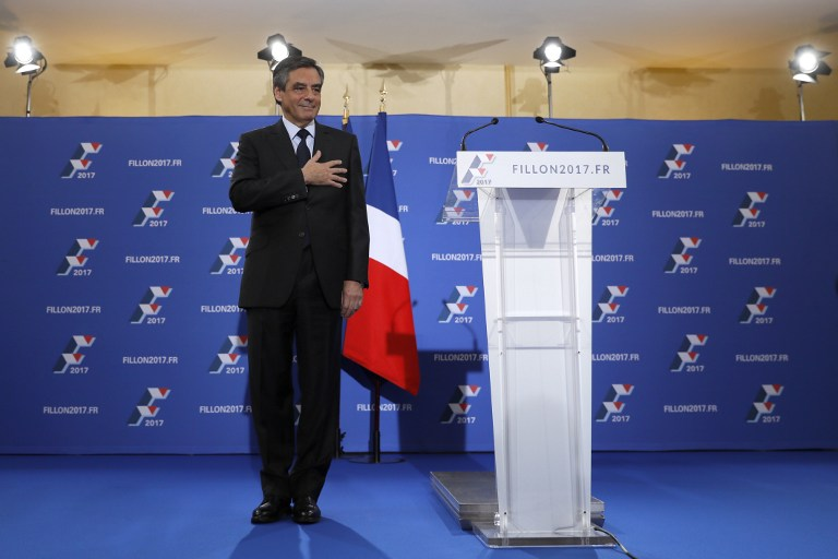 French conservatives voting to choose presidential nominee