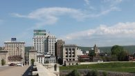 Wilkes-Barre's downtown: Trump country. Uriel Heilman/JTA