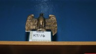 A statute of the eagle of the German Third Reich in the home of Thomas Mair (Photo credit: West Yorkshire Police /PA Wire)