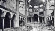 Kristallnacht damage in a Berlin synagogue