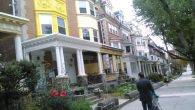 A tree-lined street in West Philly with its vintage Victorians. Hilary Danailova/JW