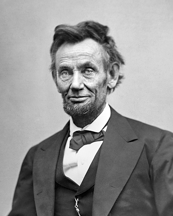 This portrait, by Scottish-born photographer Alexander Gardner, was taken on February 5, 1865. Lincoln was dead two months later.