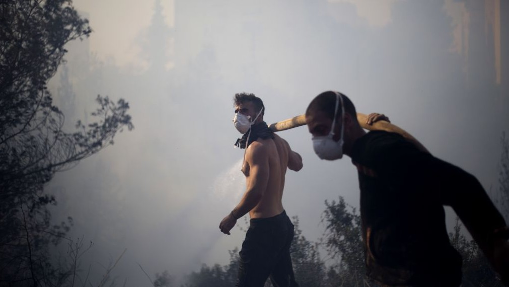 Hundreds flee wildfires at Israel's Beit Meir