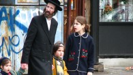 A Haredi family in the Satmar community in New York