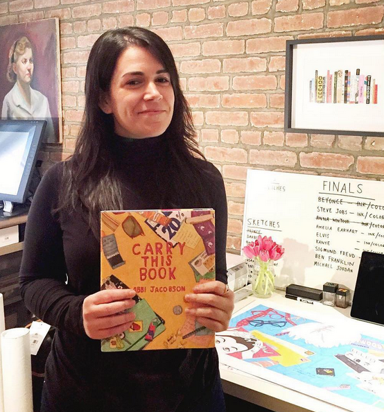 abbi jacobson revealing the cover of her new book instagramabbi jacobson - Abbi Jacobson Coloring Book