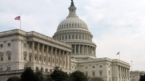 The Senate's side of the U.S. Capitol (Wikimedia Commons)