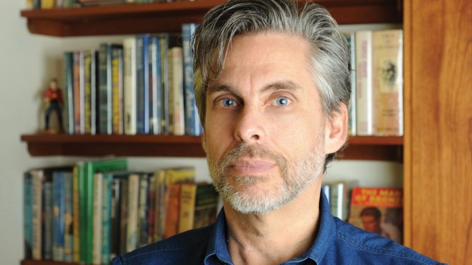 His dying grandfather's stream-of-consciousness recollections were the inspiration for Chabon's literary flight. Photos courtesy