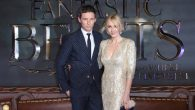"Eddie Redmayne and J. K. Rowling at the European premiere of ""Fantastic Beasts And Where To Find Them."" JTA"