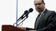 Minnesota Rep. Keith Ellison: Questions over the Democratic Party's future direction when it comes to Israel. Getty Images