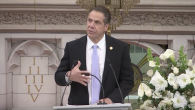 On Sunday, Governor Cuomo announced actions to combat hate crimes in NY. Screenshot/Youtube NYGovCuomo