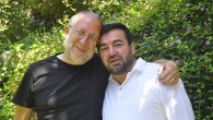 Yossi Klein Halevi, left, and Abdullah Antepli are co-directors of the Muslim Leadership Initiative. JTA