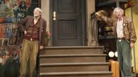 "John Mulaney as George St. Geegland and Nick Kroll as Gil Faizon in ""Oh, Hello on Broadway."" JTA"