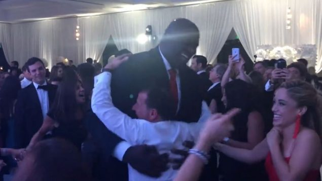 Mazel Tov: Shaq Does Hora at Jewish Wedding 2