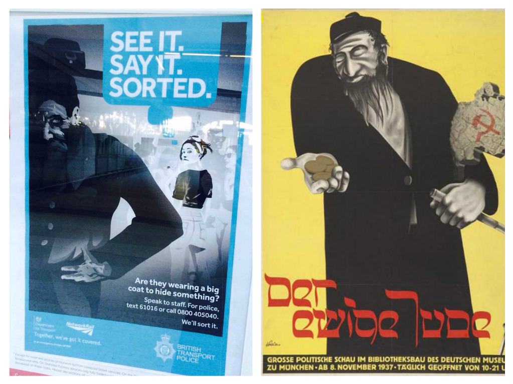 The Jews - A People of Contagion   The Palestine Poster Project ...