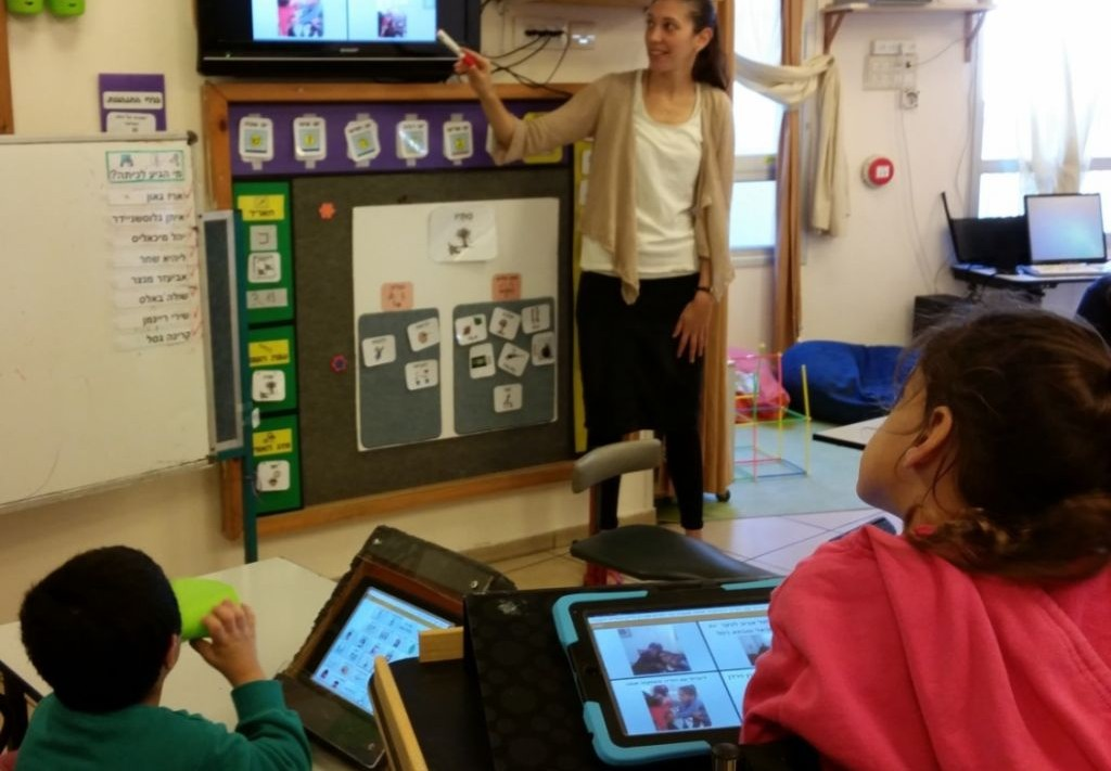Innovative Classroom Technology ~ Google showcases israeli innovation helping people with