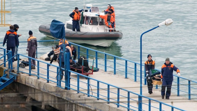 Russian plane with 91 on board missing over Black Sea