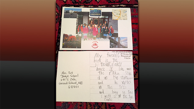 Yavneh students used Skype and postcards to connect to Nebraska and beyond.