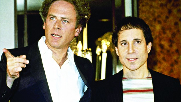 Simon and Garfunkel at the height of their fame