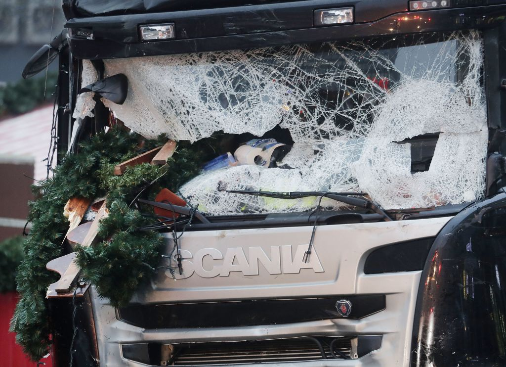 Police believe truck was deliberately driven into Berlin market