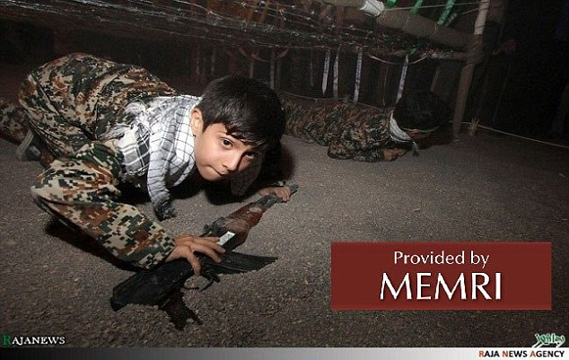 Iran's theme park City of Games for Revolutionary Children, located in Mashad (MEMRI)