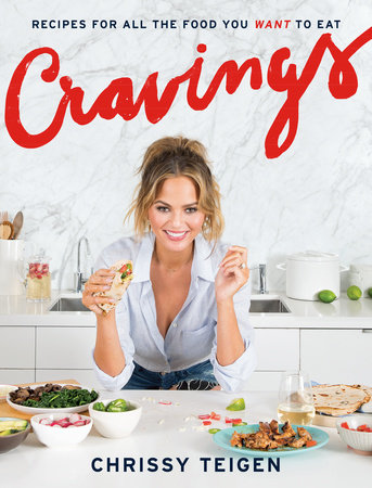 The cover of 'Cravings,' Adeena Sussman's bestseller cookbook she cowrote with celebrity Chrissy Teigen (Courtesy 'Cravings')