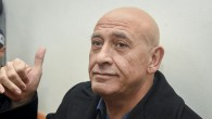 Joint Arab List member Basel Ghattas is brought to court for a remand on his arrest at the Rishon Lezion Magistrate's Court, December 27, 2016. (Yair Sagi/POOL)