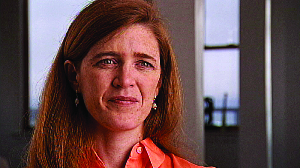 Samantha Power, US ambassador to the UN, who was inspired by the work of Raphael Lemkin