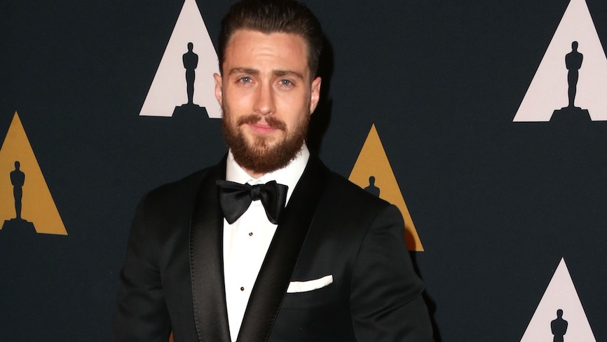 Aaron Taylor-Johnson à Hollywood, le 12 novembre 2016. (Crédit : Frederick M. Brown/Getty Images/JTA)