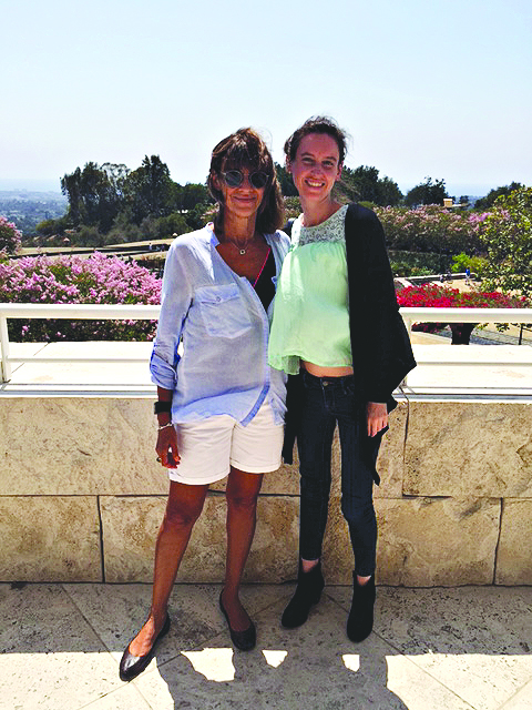 sharon-and-lara-at-getty-museum
