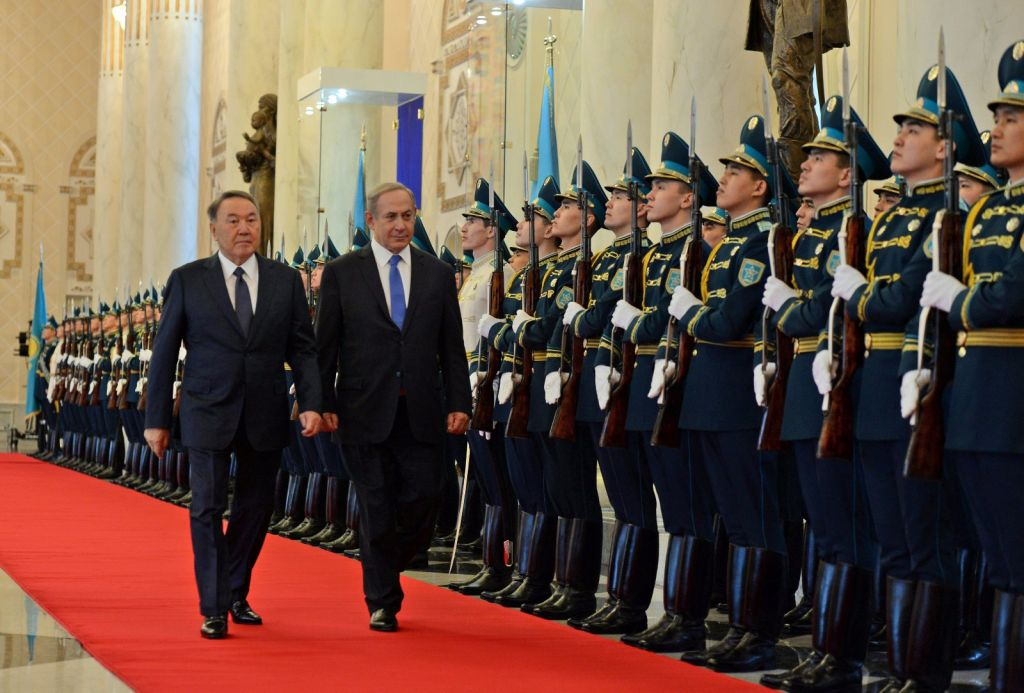 Israeli PM visits Azerbaijan, hails close ties