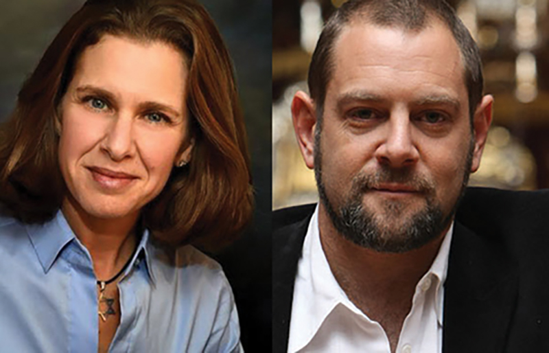Adina Lewittes and Amichai Lau-Lavie