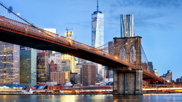Photo d'illustration du pont de Brooklyn (Crédit : Getty Images/ Tomas Sereda )