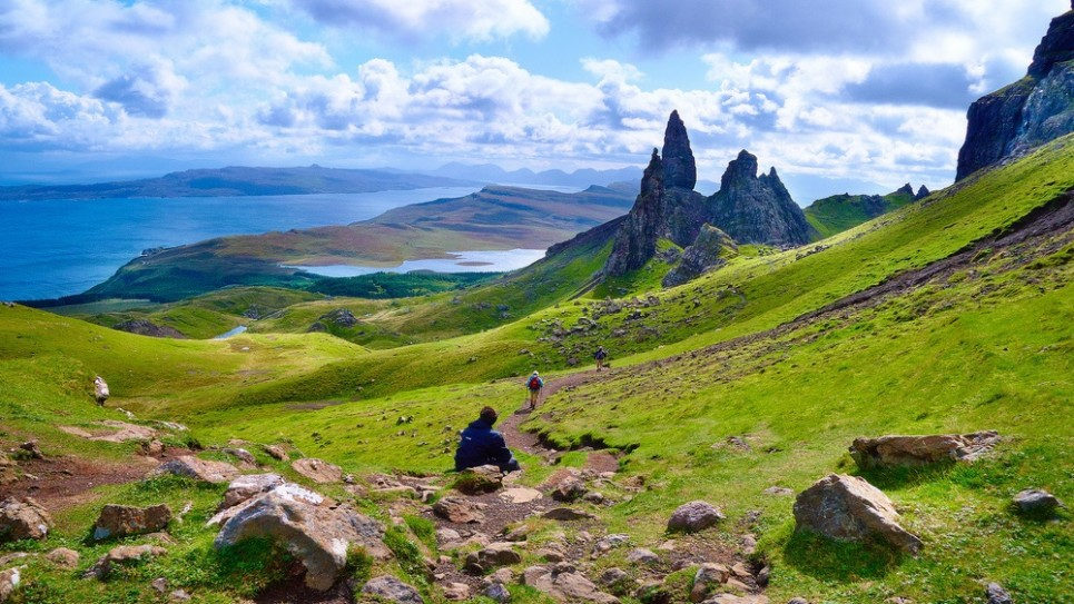 L'île de Skye, en Ecosse. Illustration. (Crédit : Moyan Brenn/CC BY/Flickr)
