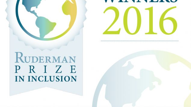 The Ruderman Prize In Inclusion. Courtesy of The Ruderman Family Foundation