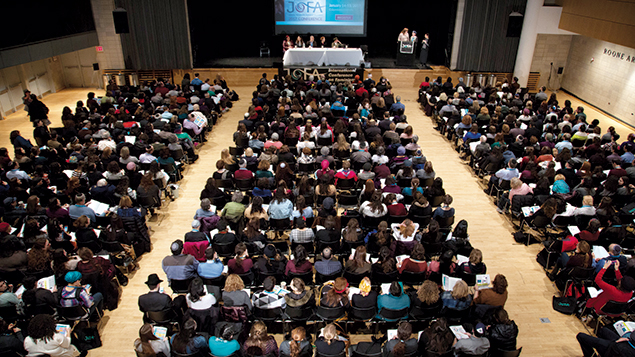 The Jewish Orthodox Feminist Alliance conference attracted 1200 people.