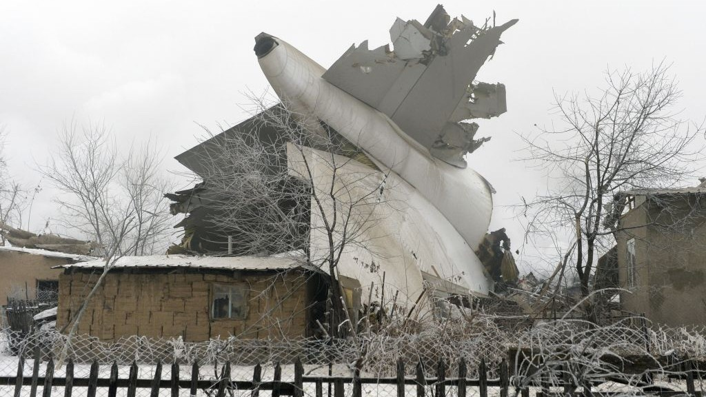 Turkish Cargo Jet Crashes In Kyrgyzstan Killing 37 The