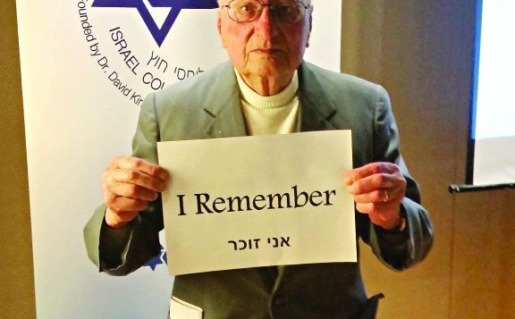 Yosef Gorvin, Holocaust Survivor