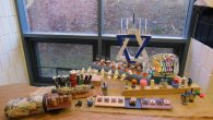 Fernbank Exhibits AJA 7th-Graders' Menorahs 1